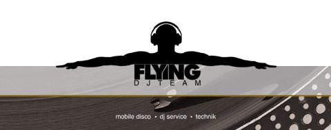 Flying-DJ-Team, Musiker · DJ's · Bands Remseck, Logo